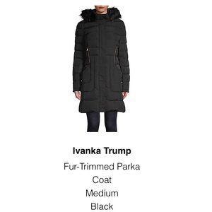 Ivanka Trump Fur (faux)- Trimmed Puffer Park Coat
